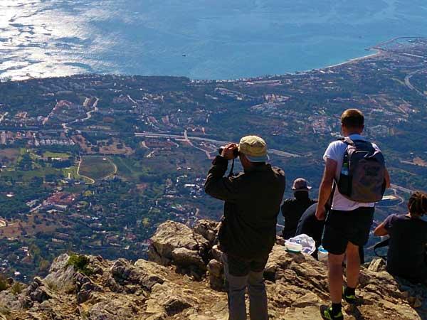 Team4you Galería de fotos Senderismo La Concha 03 Turismo Activo y Aventura Marbella Málaga Andalucía