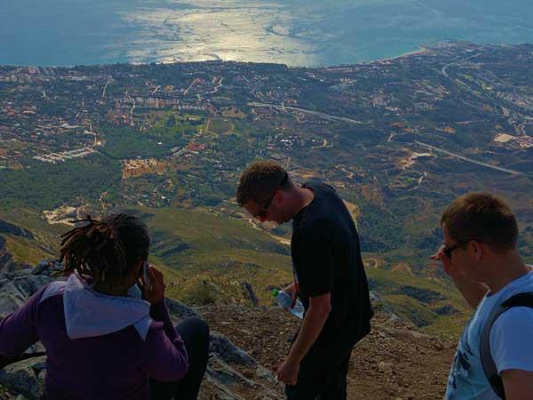 Team4you Galería de fotos Senderismo La Concha 04 Turismo Activo y Aventura Marbella Málaga Andalucía