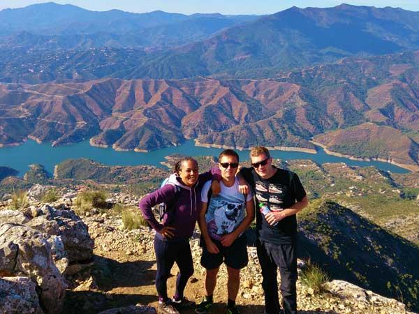 Team4you Galería de fotos Senderismo La Concha 05 Turismo Activo y Aventura Marbella Málaga Andalucía