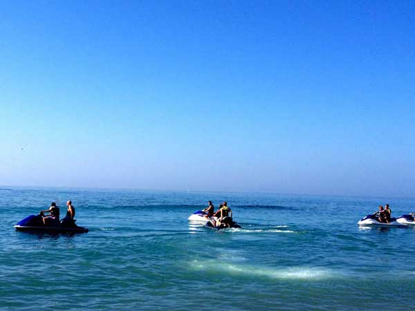 Team4you Photo Gallery JET SKI ACTIVITY 03 Adventure Outdoor Activities Marbella Málaga Andalucia