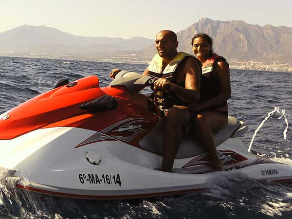 Team4you Photo Gallery JET SKI ACTIVITY 04 Adventure Outdoor Activities Marbella Málaga Andalucia