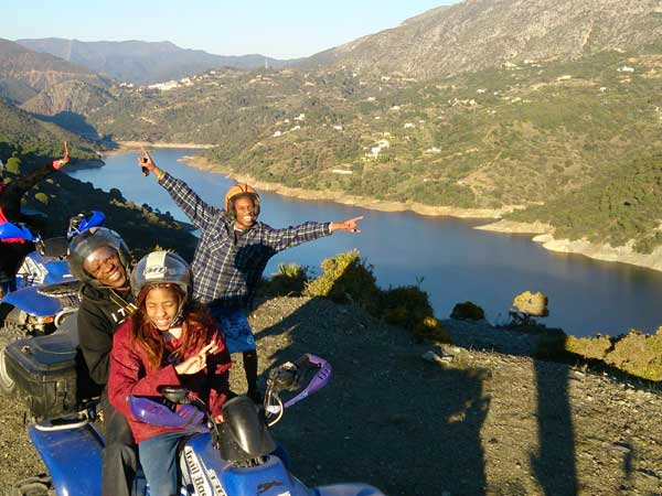 Team4you Photo Gallery KAYAK and QUAD TOUR 06 Adventure Outdoor Activities Marbella Málaga Andalucia