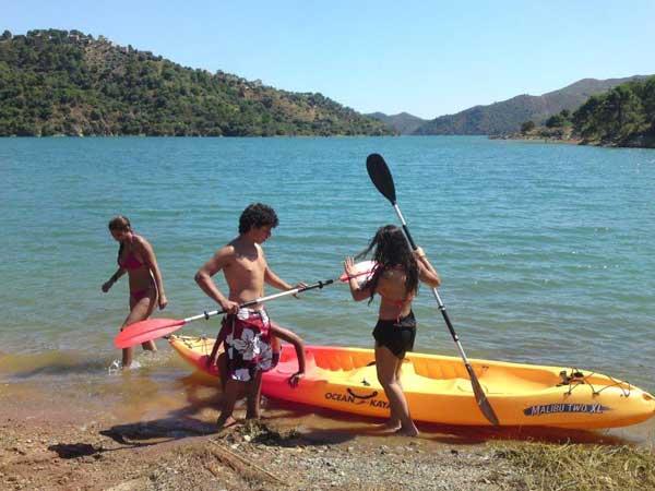 Team4you Galería de fotos KAYAK TRIP 03 Turismo Activo y Aventura Marbella Málaga Andalucía