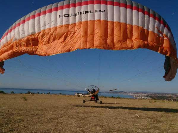 Team4you Photo Gallery Paratrike Adventure in Marbella 01. Costa del Sol from the Sky. Malaga Spain