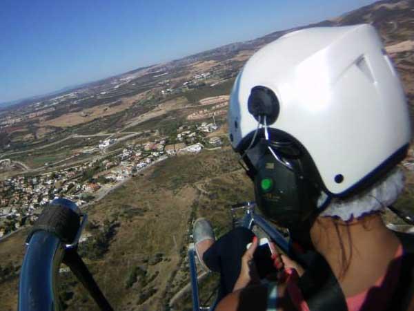 Team4you Photo Gallery Paratrike Adventure in Marbella 03. Costa del Sol from the Sky. Malaga Spain