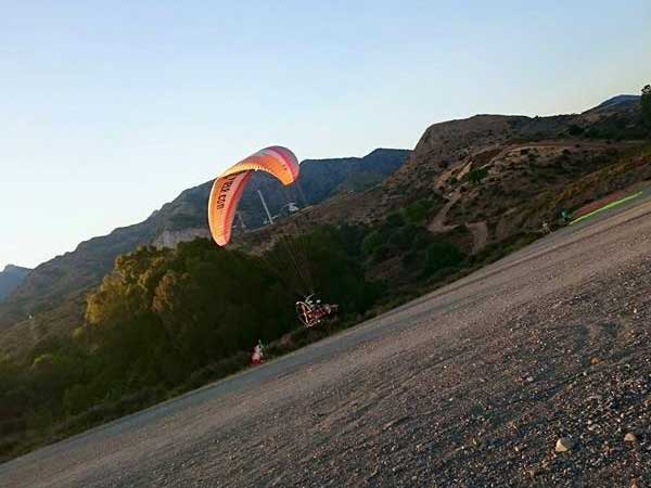 Team4you Photo Gallery Paratrike Adventure in Marbella 07. Costa del Sol from the Sky. Malaga Spain