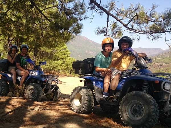 Team4you Galería de fotos Excursión con Quads 01 Turismo Activo y Aventura Marbella Málaga Andalucía