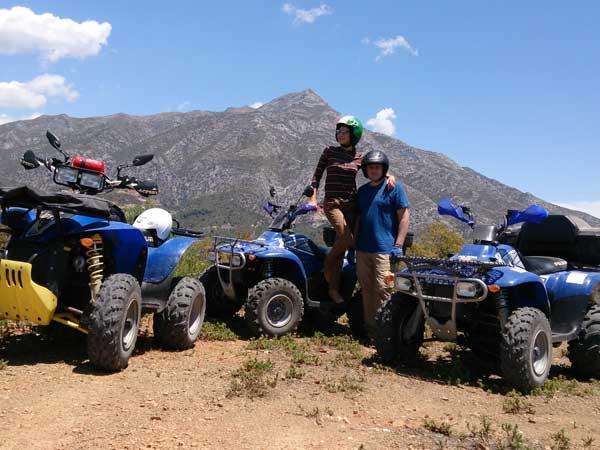 Team4you Galería de fotos Excursión con Quads 03 Turismo Activo y Aventura Marbella Málaga Andalucía