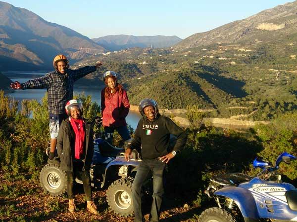 Team4you Galería de fotos Excursión con Quads 05 Turismo Activo y Aventura Marbella Málaga Andalucía