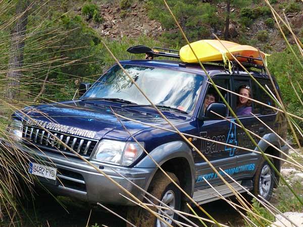 Team4you Galería de fotos Jeep Safari y Kayak 01 Turismo Activo y Aventura Marbella Málaga Andalucía
