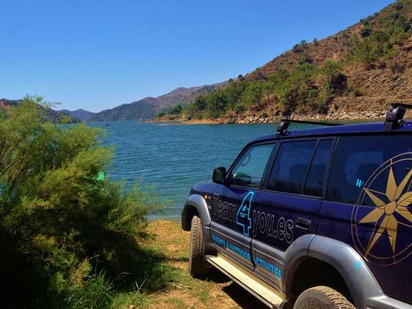 Team4you Galería de fotos Jeep Safari y Kayak 03 Turismo Activo y Aventura Marbella Málaga Andalucía