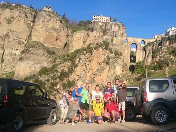Team4you Photo Gallery Self Drive Off Road Jeep Safari Tour to Ronda.