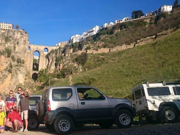 Team4you Galería de fotos Jeep Safari Off Road llegar la ciudad de Ronda.