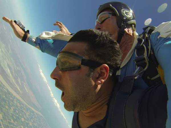 Team4you Photo Gallery Skydiving near Marbella. A rush of adrenalin on the Costa del Sol. Tandem Skydiving with coastal views in the heart of Andalucia. Spain Malaga 03.
