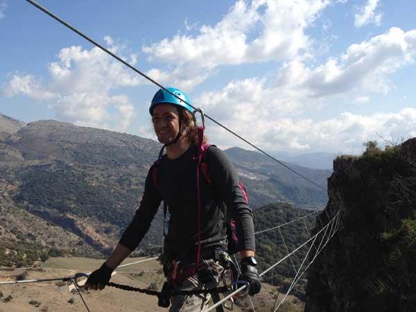Team4you Galería de fotos VIA FERRATA Ronda 02 Turismo Activo y Aventura Marbella Málaga Andalucía