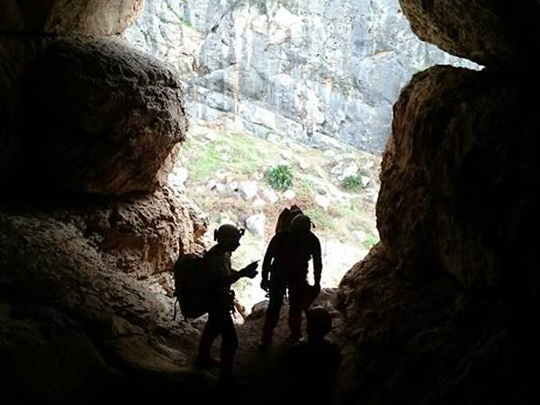 Team4you Galería de fotos Via Ferrata y espeleología en las montañas de la provincia de Málaga, con buena empresa.