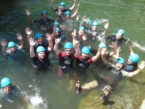 Team4you Photo Gallery CORPORATE CANYONING 01 Corporate Events Marbella Málaga Andalucia