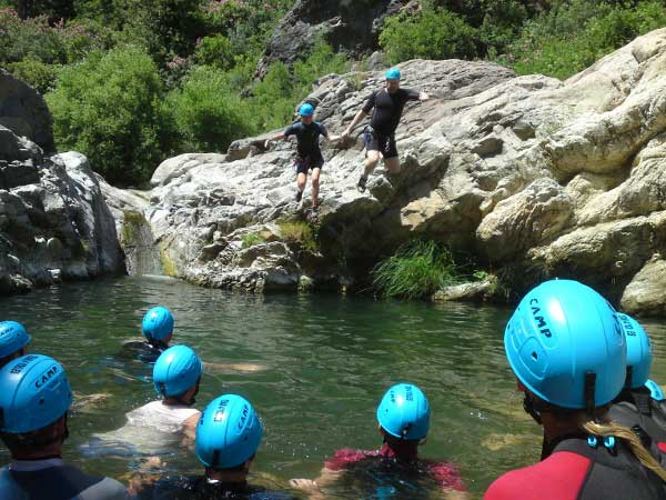 Team4you Photo Gallery CORPORATE CANYONING 02 Corporate Events Marbella Málaga Andalucia