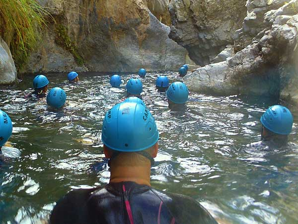 Team4you Photo Gallery CORPORATE CANYONING 04 Corporate Events Marbella Málaga Andalucia