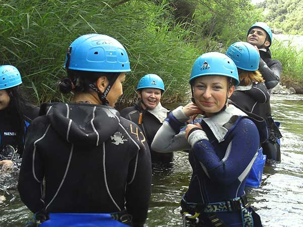 Team4you Photo Gallery CORPORATE CANYONING 06 Corporate Events Marbella Málaga Andalucia