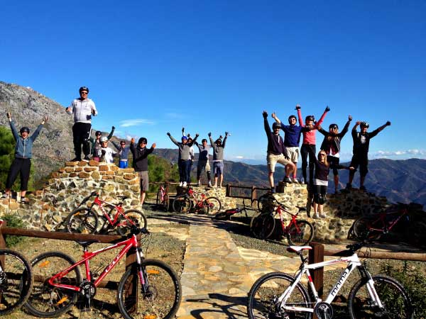 Team4you Photo Gallery MOUNTAIN BIKING TOURS 03 Corporate Events Marbella Málaga Andalucia