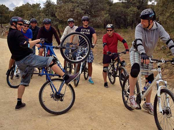 Team4you Photo Gallery MOUNTAIN BIKING TOURS 04 Corporate Events Marbella Málaga Andalucia