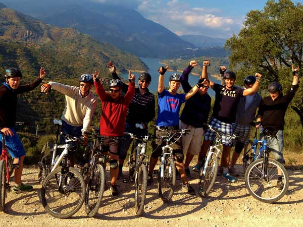 Team4you Photo Gallery MOUNTAIN BIKING TOURS 05 Corporate Events Marbella Málaga Andalucia
