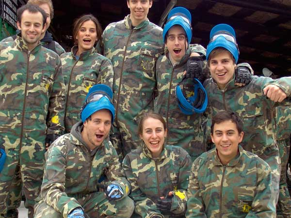 Team4you Photo Gallery PAINTBALL EVENT 01 Corporate Events Marbella Málaga Andalucia