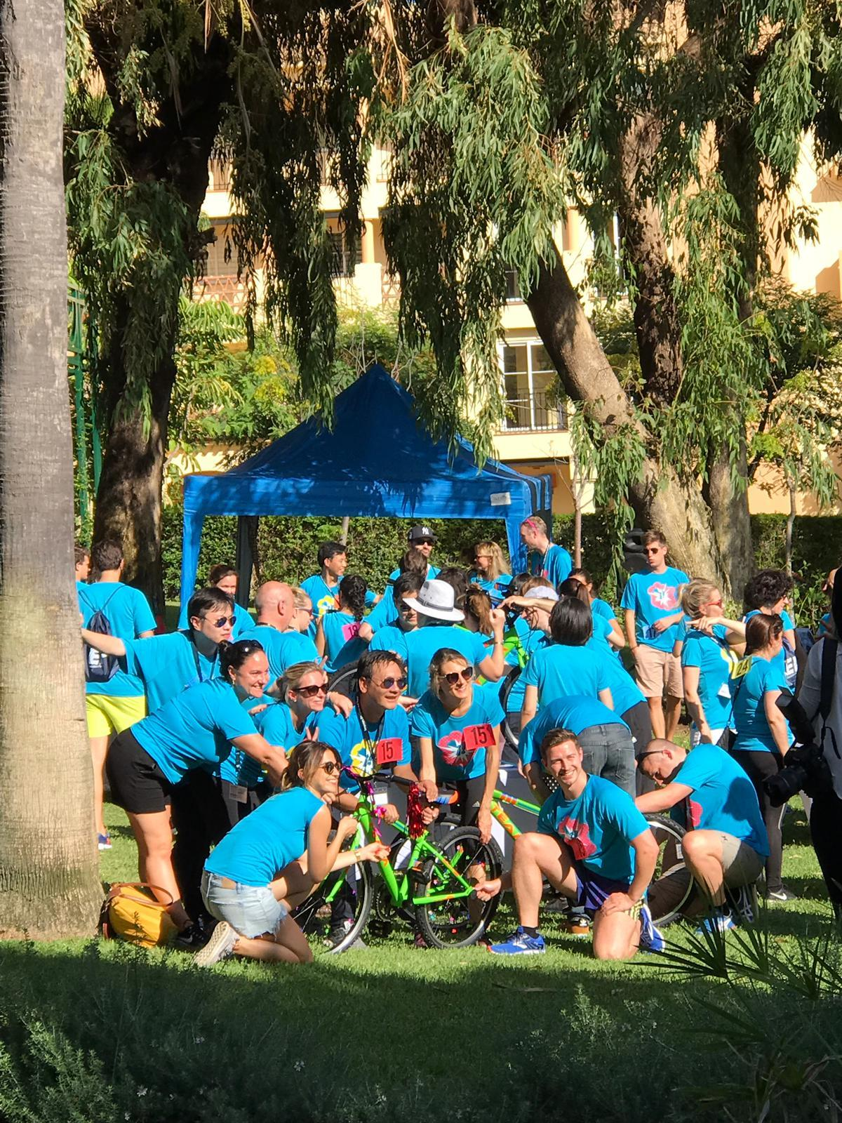 CHARITY BIKE BUILD Marbella Teams construct the ultimate human-powered child's bike 06 | Team4you