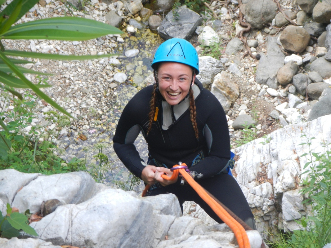 Corporate Canyoning Marbella Canyon Descent a exhilarating and adventurous adrenaline activity. 08 | Team4you
