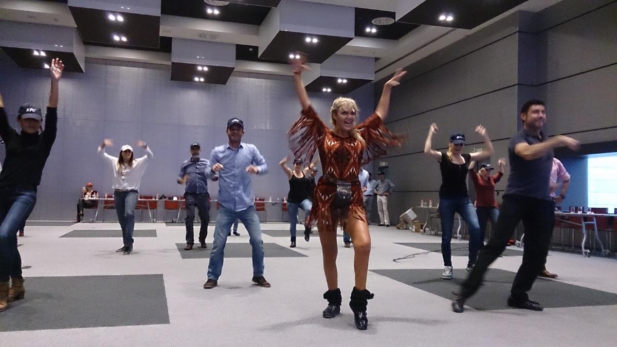 FLASH MOB Málaga Costa del Sol popular dance event 03   Team4you