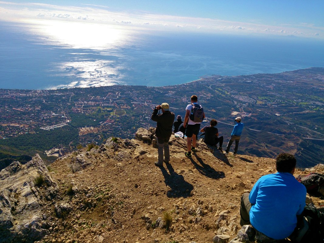 Hiking Trip Marbella La Concha FULL-day walking through great outdoors 01 | Team4you