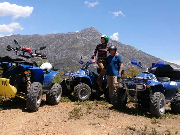 Quad ride Málaga Costa del Sol Enjoy the adventure 05 | Team4you
