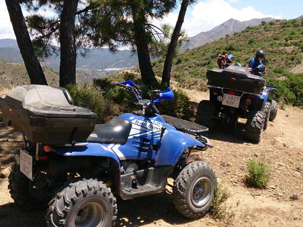 Quad ride Málaga Costa del Sol Enjoy the adventure 06 | Team4you