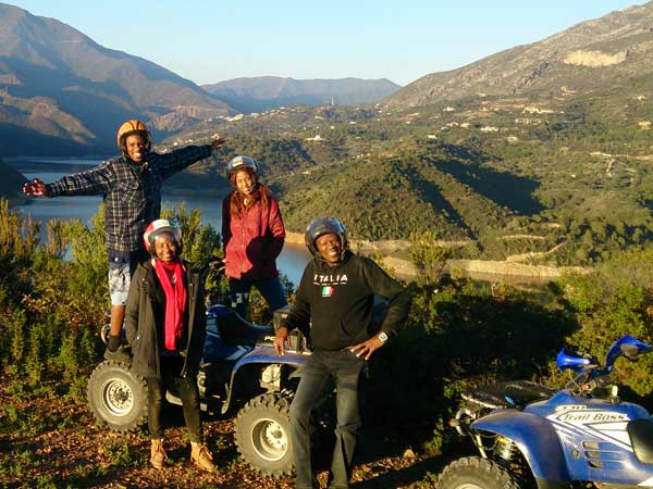 Quad ride Málaga Costa del Sol Enjoy the adventure 07 | Team4you