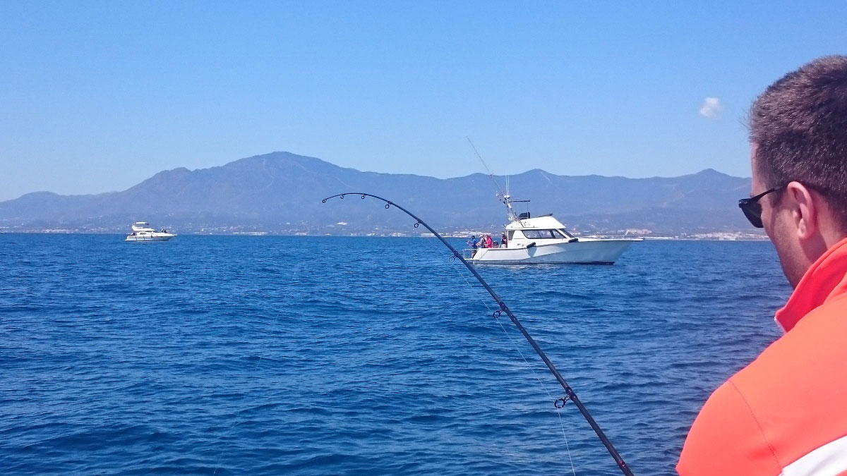 SEA FISHING Málaga Costa del Sol deep sea fishing 02 | Team4you