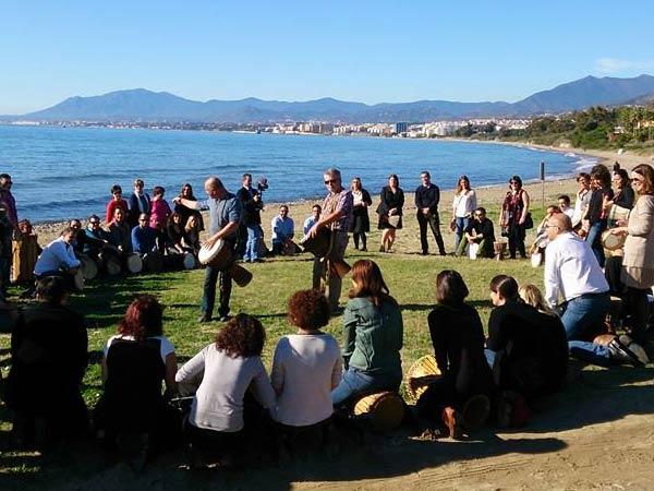 Team4you Galería de fotos DRUM CIRCLE for Team Building and Ice Breakers. Marbella Málaga Andalucia