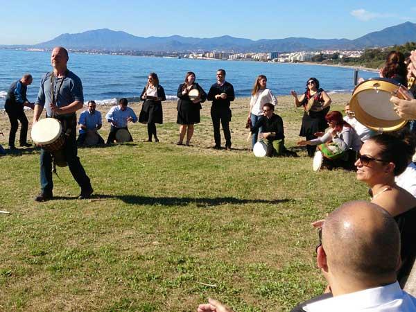 Team4you Galería de fotos Talleres de Percusión 05 Team Building y Eventos de Incentivo Marbella Málaga Andalucía
