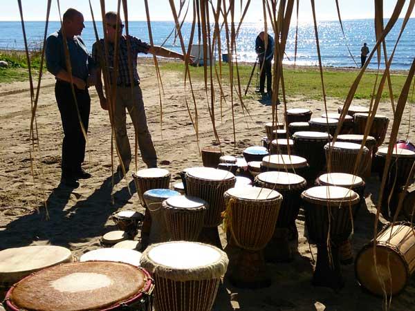 Team4you Galería de fotos Talleres de Percusión 06 Team Building y Eventos de Incentivo Marbella Málaga Andalucía