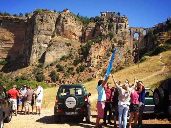 Team4you Photo Gallery JEEP RALLY 4X4 GPS 02 Teambuilding and Incentives Marbella Málaga Andalucia