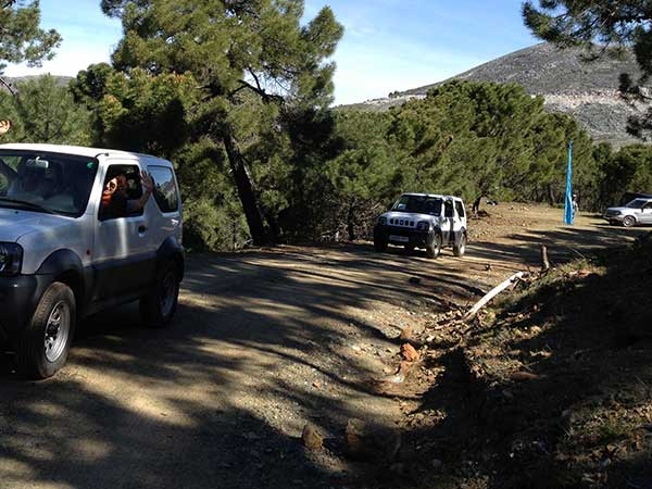 Team4you Photo Gallery JEEP RALLY 4X4 GPS 04 Teambuilding and Incentives Marbella Málaga Andalucia