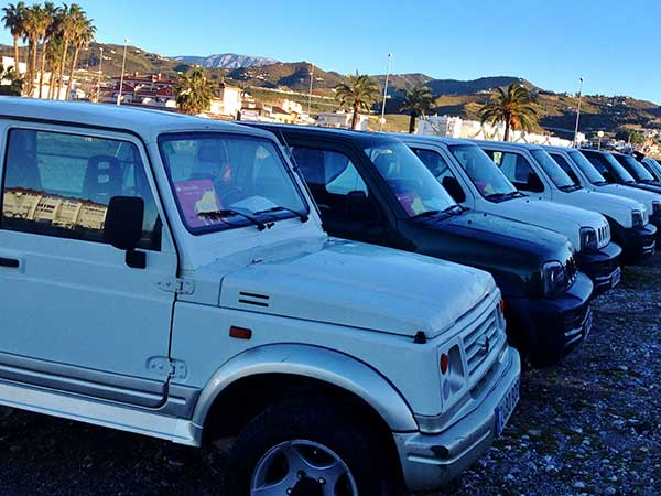 Team4you Photo Gallery JEEP RALLY 4X4 GPS 06 Teambuilding and Incentives Marbella Málaga Andalucia