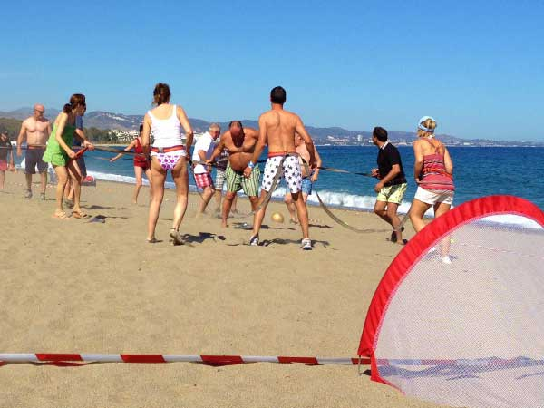 Team4you Photo Gallery OLYMPICS GAMES 03 Teambuilding and Incentives Marbella Málaga Andalucia