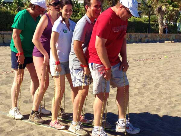 Team4you Photo Gallery OLYMPICS GAMES 04 Teambuilding and Incentives Marbella Málaga Andalucia