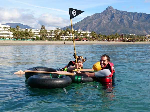 Team4you Galería de fotos Campamento Robinson Crusoe 02 Team Building y Eventos de Incentivo Marbella Málaga Andalucía