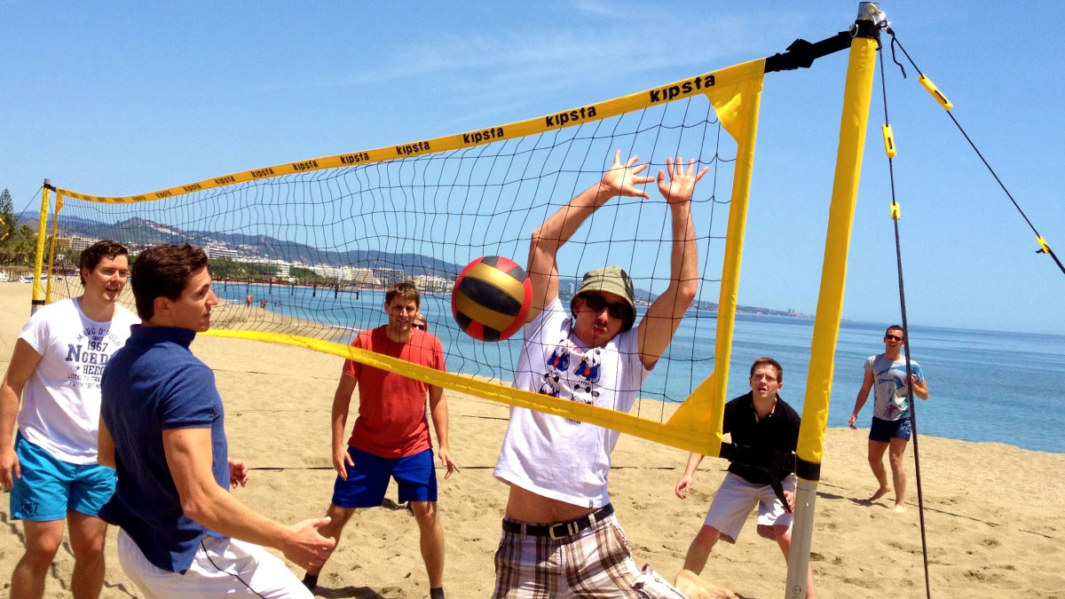 BEACH OLYMPICS Different outdoor team activity combinations 01 | Marbella Team4you