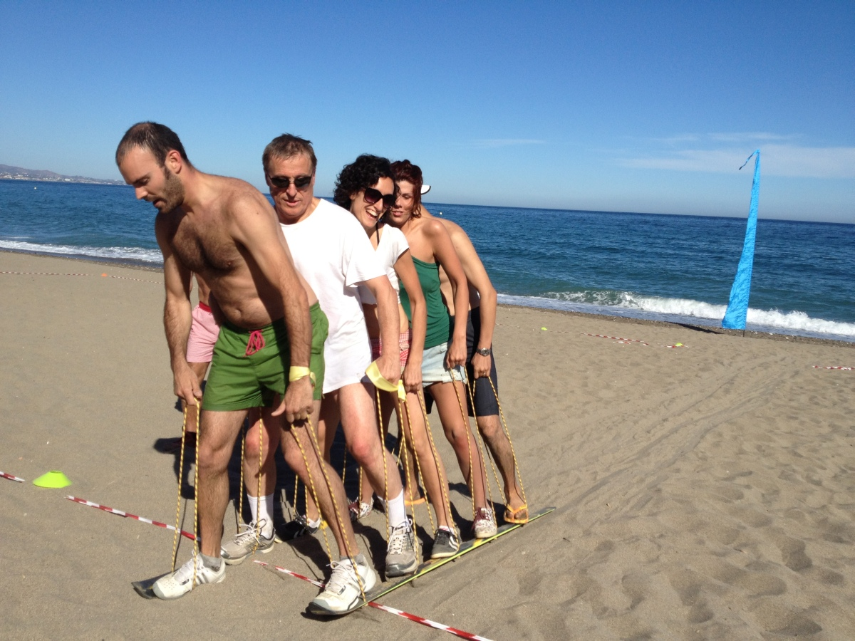 BEACH OLYMPICS Marbella Different outdoor team activity combinations 05 | Team4you