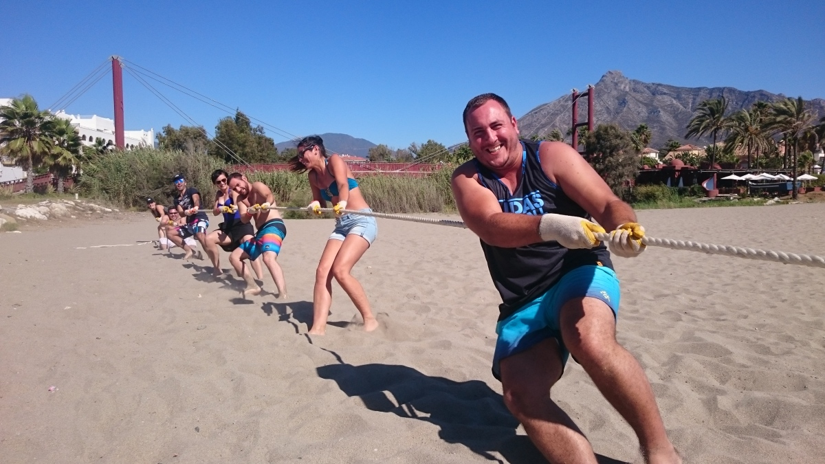 BEACH OLYMPICS Marbella Different outdoor team activity combinations 07 | Team4you