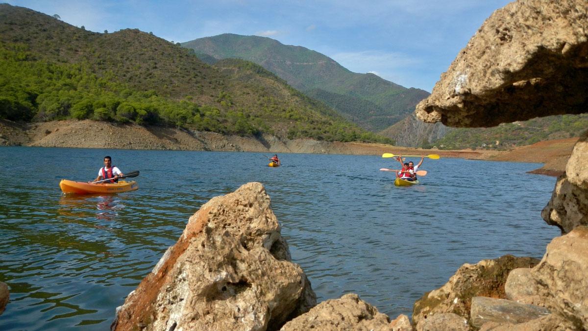 Kayak Marbella mountain lake Kayak and Canoa 01 | Team4you