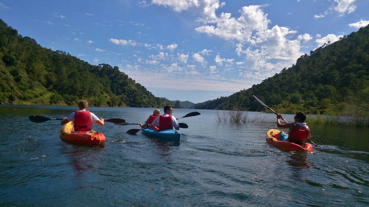 Kayak Marbella mountain lake Kayak and Canoa 02 | Team4you